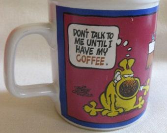 Vintage 1988 Grimmy Coffee Mug
