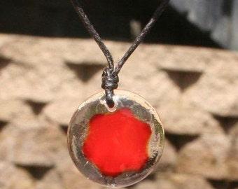 Sacral Chakra Orb Necklace