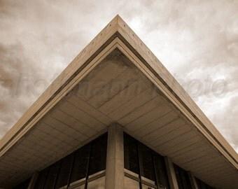 Brutalist Architecture Lines