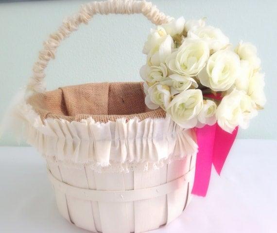 Wedding Gift Card Basket : Wedding Gift Card Basket Farmhouse Money Basket Cottage Chic Gift ...