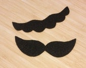 Super Mario Brothers Inspired-Stick on Felt Mario and Luigi Mustaches - CHILD or INFANT-Dress Up - Dramatic Play