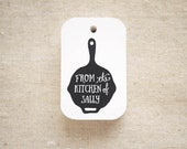 From The Kitchen Of Gift Tags (Medium) - Cooking Pan Food Tags - Gift Tags - Hang Tag - Gift Wrap - Product Tag- Set of 24 (Item code: J463)
