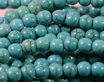 Magnesite Beads 6 mm Full Strands Gemstone Beads