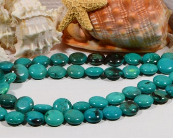 Turquoise 16x6mm Beads Gemstone Beads Jewelry Making supplies