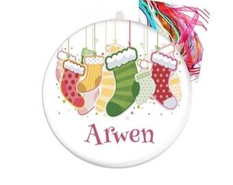 Personalised Christmas decoration - Christmas stockings