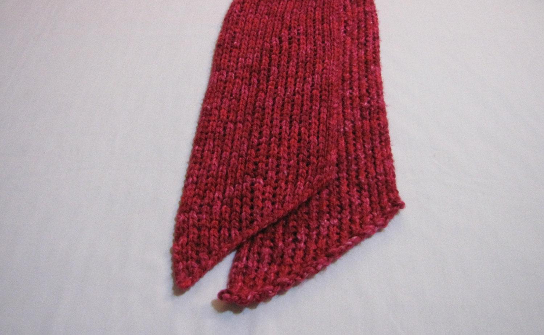crimson mesh scarf by sortedsundries on etsy