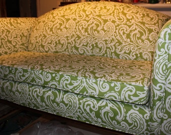 Custom Made - Upholstered Love Seat - Price is approximation only