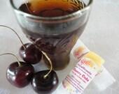 Cherry Cola - Lip+Cuticle Balm - 100% Organic - .15oz Oval Twist Up Tube - BPA free container