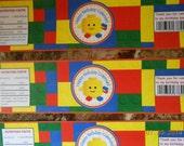 Building Blocks Water Bottle Labels-Building Blocks Juice Box Labels-Building Blocks Birthday-Building Blocks Decoration