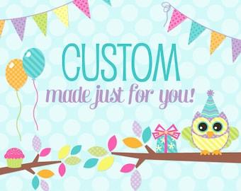 Add A Custom Name Banner