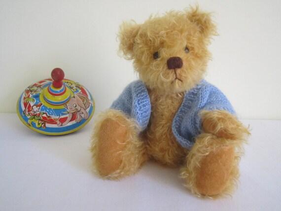 HANDMADE artist bear, German mohair - OOAK