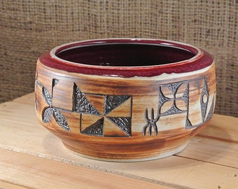 Modern Tapa Bowl for your Tiki Bar