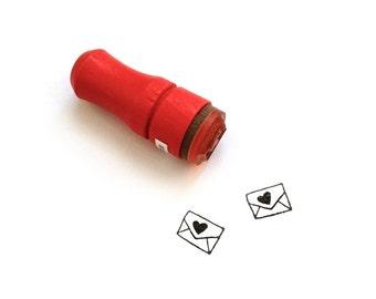 Mini Love Letter Rubber Stamp