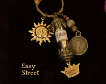 """Talisman, """"Easy Street"""",  a witch's charm to attract money."""