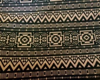 Aztec Fashion Knit - Brown/Black