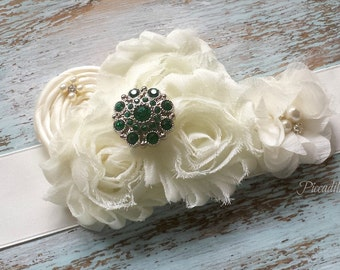 Emerald Green Bridal Sash, Flower Girl Sash, Maternity Sash, Custom Sash, Bridesmaid Sash, Satin Bridal Sash, Bridal Belt