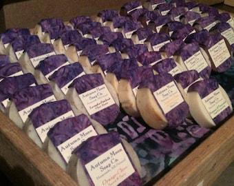 Bulk Soap, labeled soap for retailers or favors, all-natural bulk soap, shampoo, wholesale shampoo, wedding favors, bridal favors