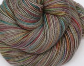 Hand Dyed Fingering/Sock Sparkle Yarn, Superwash Merino/Nylon/Stellina, Invisability Cloak