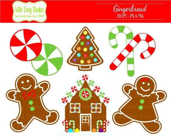 christmas clip art gingerbread house - photo #15