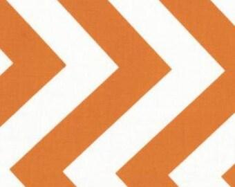 Chevron, Zig Zags by Moda, Chevron Fabric, Orange Fabric, 1 Yard Fabric
