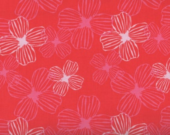 Flowers, Daydreams by Moda, Red Fabric, Floral Fabric, Red Floral Fabric, 05081