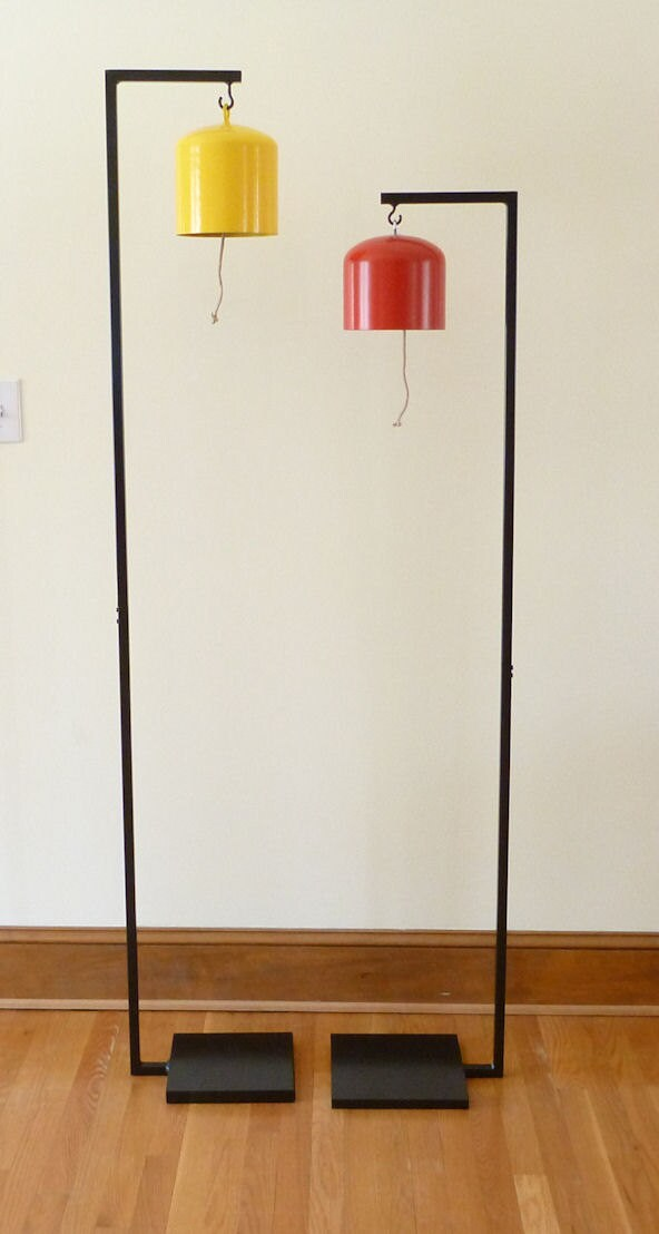 Indoor Hanging Bell Gong Or Plant Stand