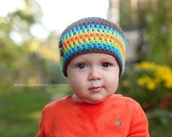 baby hat, boys hat, crochet boys hat, little boys hat, baby boy hat, crochet baby hat