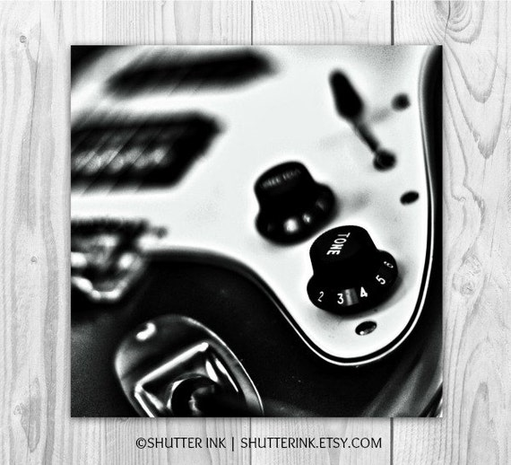 Music Print - Guitar Rock and Roll Wall Art Photography Fine Art Print