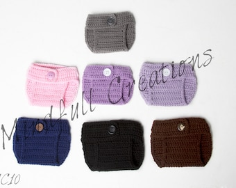 Newborn Diaper Cover (you choose color)