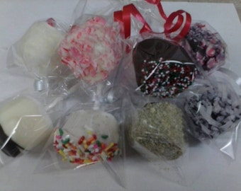 24 Chocolate Holiday Valentines, St. Pats, Marshmallow Pops