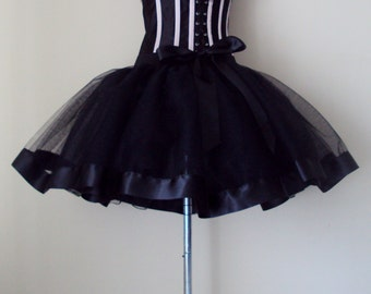 Black Tutu Skirt all sizes at checkout.