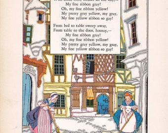 Maud and Miska Petersham illustration... Nursery Friends from France
