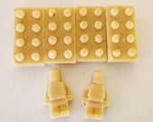 Lego Type Soap Set, Oatmeal Honey Soap, Goat Milk Soap, Children's Soap, Party Favors