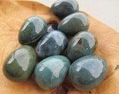 Moss Agate Egg #V15