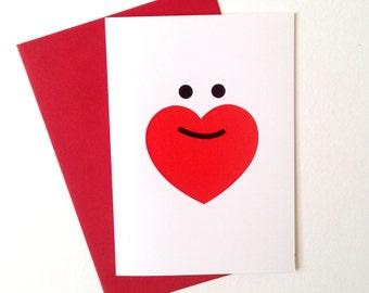 Funny Boyfriend Day Card, Valentines Card, Cute Boyfriend Card, Love Beards card, Husband card, i love beards card, Love Heart card