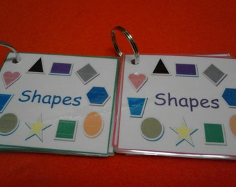Shapes Flash Cards, Shape Cards, Preschool Learning, Preschool Teacher, Preschool Teacher Gift, Toddler Learning, Educational, Kids Learning