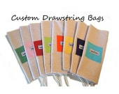 """Large Muslin Drawstring Bags CUSTOM 19X26"""" 32 Color Choice Square Pets Household Organize Storage Craft Tote Laundry Bag Pouch Gifts"""