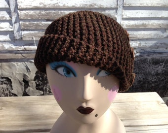 Women's Bulky Wool Hat