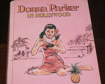 "Vintage Book ""Donna Parker in Hollywood"""