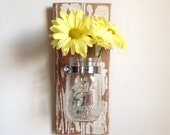 Rustic Wall Decor to display flowers