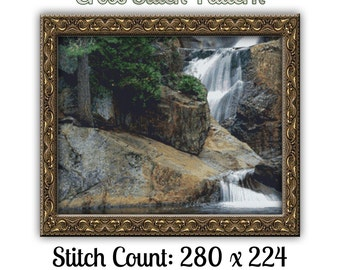 Nature's Finest Cross Stitch Pattern - Instant Download pdf