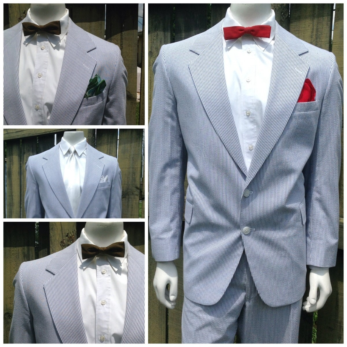 Seersucker for wedding. Exude a suave look for your summer wedding! Apart from regular usage for summer, seersuckers are also popular at weddings, church and .