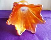 Vintage FentonLusterware Vase in April Showers Pattern