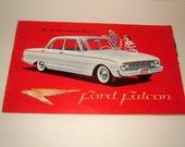 1959 Ford Falcon Vintage Advertising Brochure FD C 6017 F1 - The New International Class Car Vintage Ephemera Vintage Automobilia