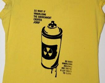 Women's Political Radical Environmental, T-shirt