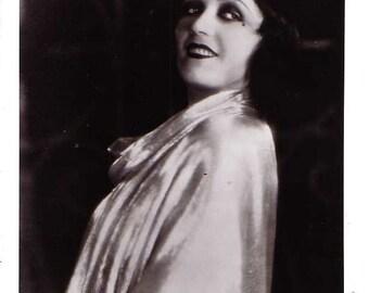 8 x 10 glossy of Polish Femme Fatale Pola Negri star of silent film.