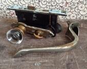Antique working door hard wear + handle