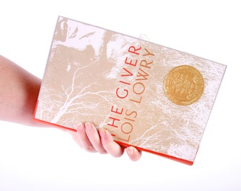Book Clutch- The Giver - Lois Lowry - Custom