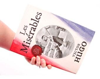 Book Clutch - Les Miserables- Custom