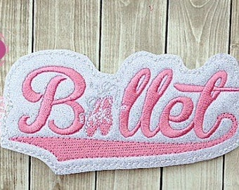 Ballet Headband- Pretty in Pink!